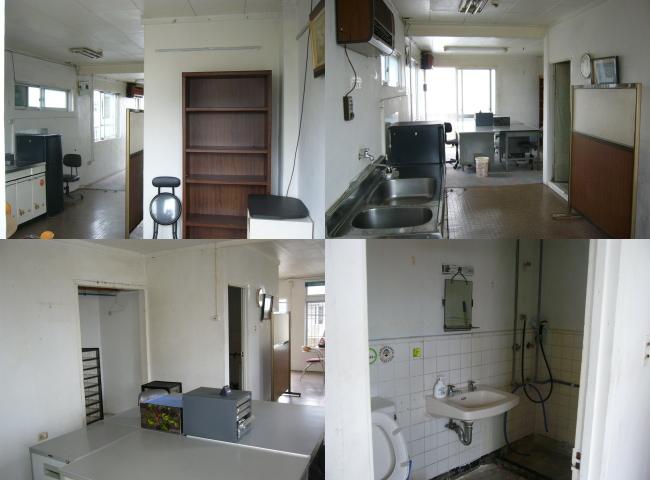 築38年になるアパートの一室のリノベーション。以前は事務所として使用していたが、現在は空き室の状況。