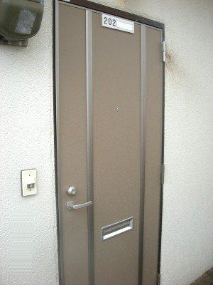 画像1: アパート玄関取替えリフォーム2